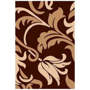 فرش سهند طرح فانتزی زمینه قهوه ای کد C721XO