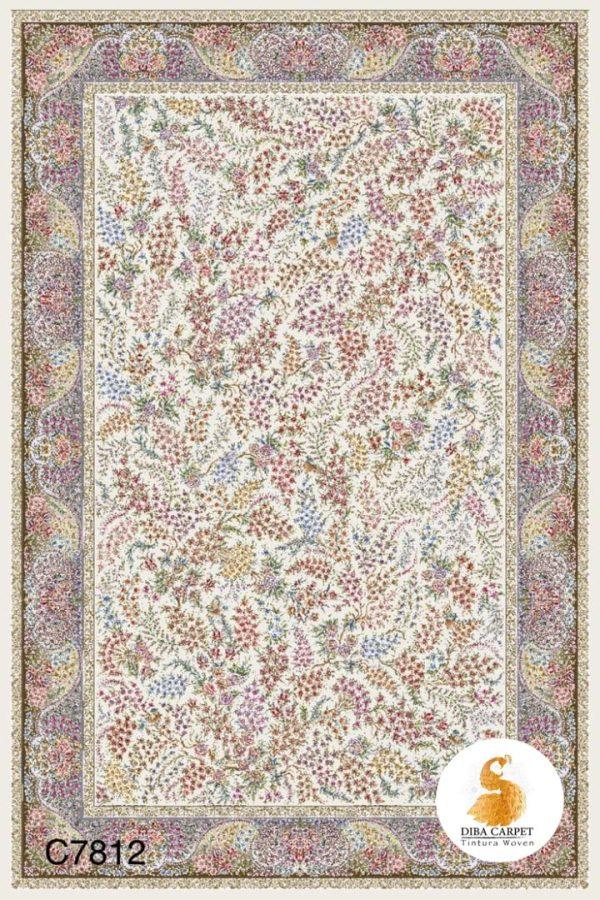 فرش دیبا طرح کلاسیک کدc7812