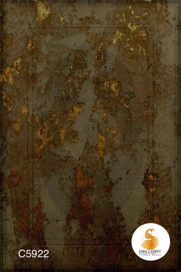 فرش دیبا طرح کلاسیک کد C5922