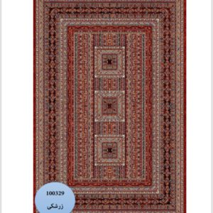 فرش محتشم طرح سنتی کد 100329