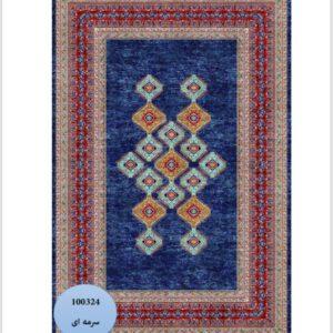 فرش محتشم طرح سنتی کد 100324
