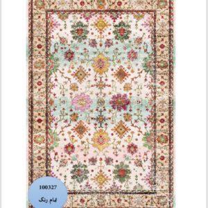 فرش محتشم طرح سنتی کد 100327