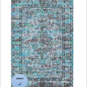 فرش محتشم طرح کهنه نما کد 100639