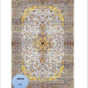 فرش محتشم طرح کهنه نما کد 100638