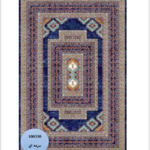 فرش محتشم طرح سنتی کد 100330