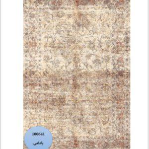 فرش محتشم طرح کهنه نما کد 100641