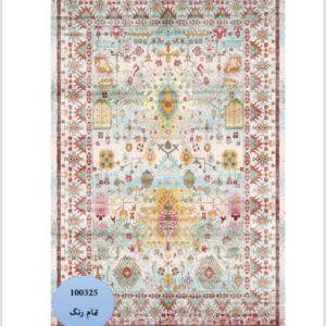 فرش محتشم طرح سنتی کد 100325