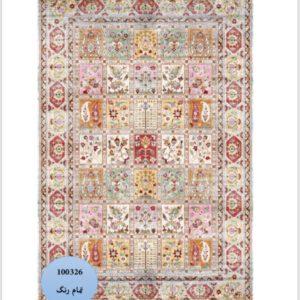 فرش محتشم طرح سنتی کد 100326