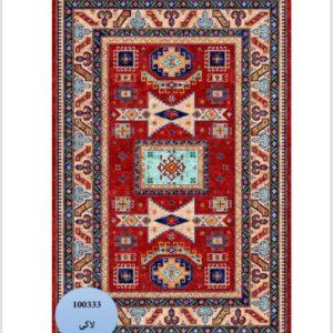 فرش محتشم طرح سنتی کد 100333