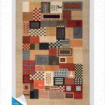 فرش محتشم طرح سنتی کد 100307