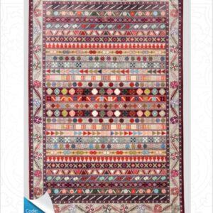 فرش محتشم طرح سنتی کد 100315