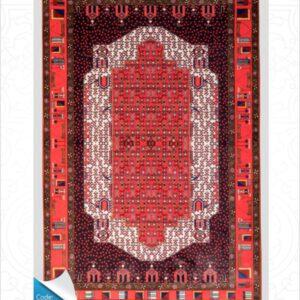 فرش محتشم طرح سنتی کد 100310
