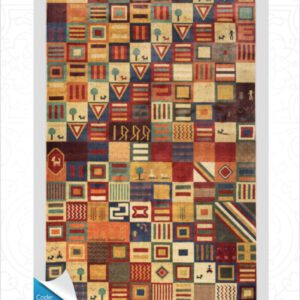 فرش محتشم طرح سنتی کد 100303