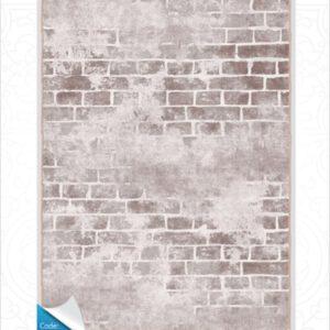 فرش محتشم طرح مدرن طوسی کد 100410