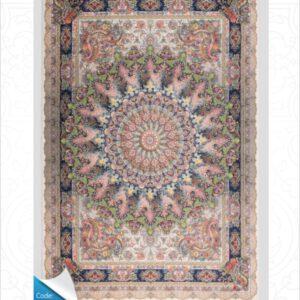 فرش محتشم طرح مدرن کد 100451