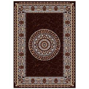 فرش فانتزی زمینه قهوه ای  SL26