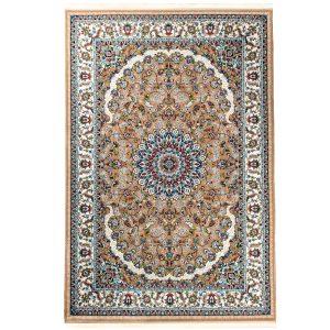 فرش کلاسیک زمینه قهوه ای کد VF11.KK