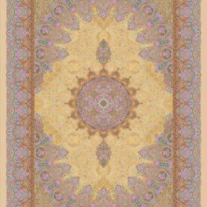 فرش دیبا طرح برجسته کد B2417