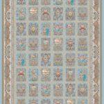 فرش دیبا طرح برجسته کد B2653