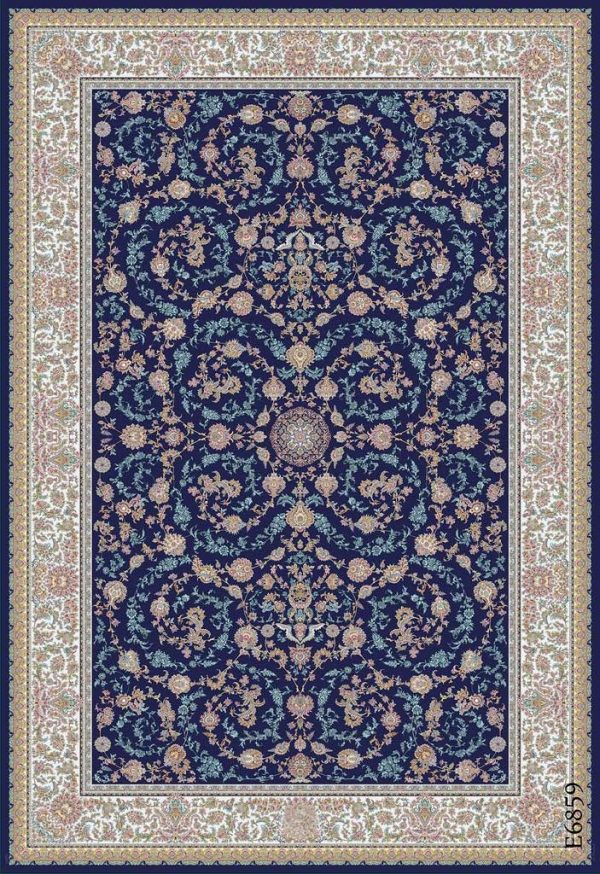 فرش دیبا طرح اصفهان کدE6859