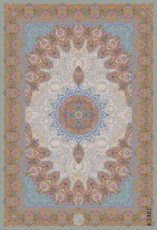 فرش دیبا طرح کرمان کد k2481