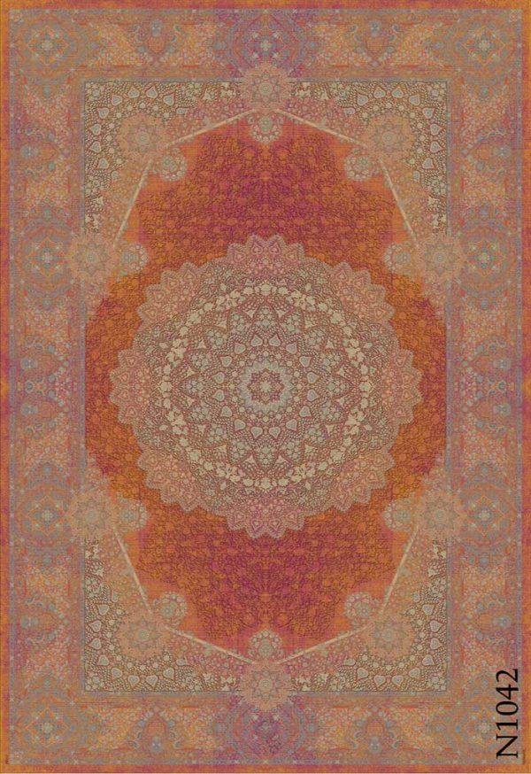 فرش دیبا طرح نوستالژی کد N1042