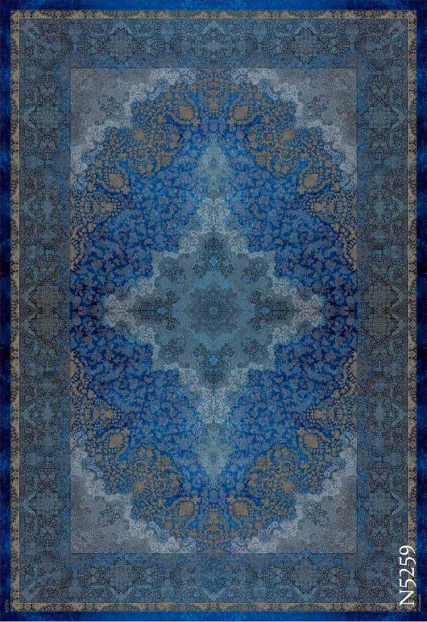 فرش دیبا طرح نوستالوژی N5259