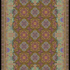 فرش دیبا طرح قم کد Q2289