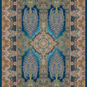 فرش دیبا طرح قم کد Q6059