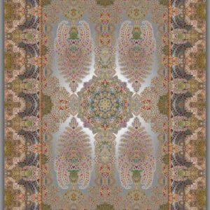 فرش دیبا طرح قم کد Q6084