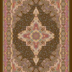 فرش دیبا طرح تبریز کدT5238
