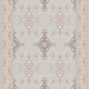 فرش ثمین طرح مدرن رنگ طوسی کد 3034