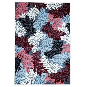 فرش ماشینی سهند کد SL11.US طرح فانتزی رنگ نقره ای