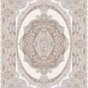 فرش ماشینی 1200 شانه رنگ بژ 3038
