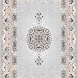 فرش مدرن طرح هولیدی رنگ الماسی