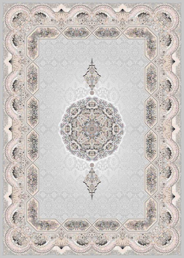 فرش ثمین طرح مدرن رنگ هولیدی الماسی کد 9