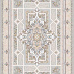 فرش مدرن طرح خزان رنگ الماسی