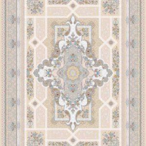 فرش ثمین طرح مدرن رنگ هولیدی خزان بژ کد 9
