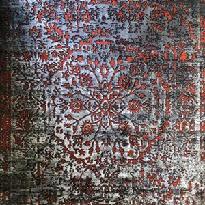 فرش وینتیج رنگ مسی