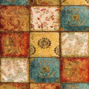 فرش انا طرح فانتزی پتینه کد1127