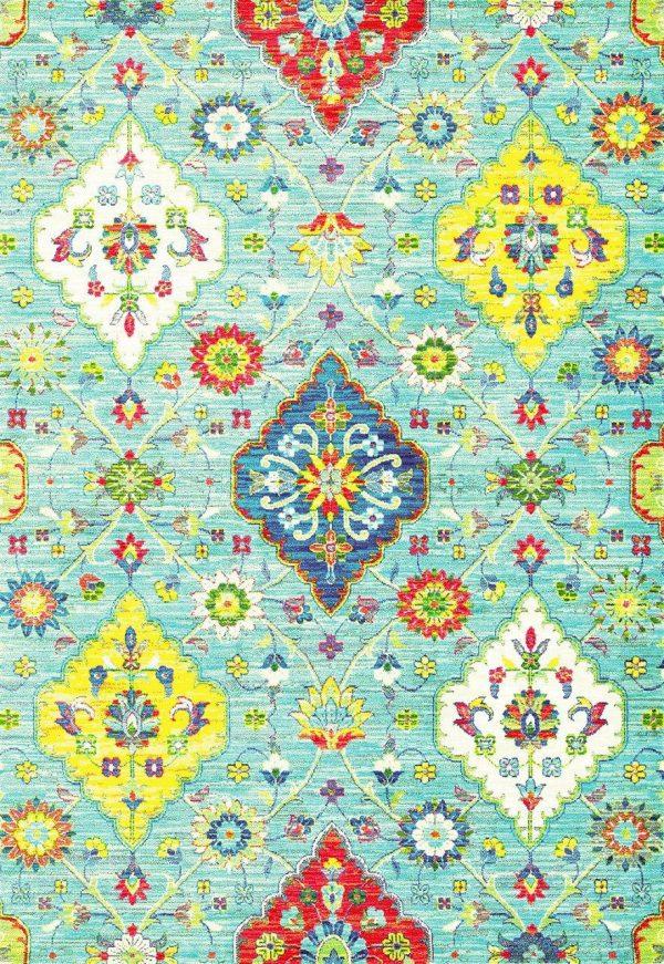فرش انا طرح فانتزی پتینه کد1125