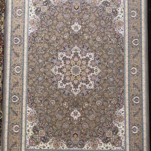 فرش ماشینی 1200 اصفهان شکلاتی