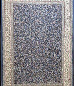 فرش ماشینی 1200 شانه انا طرح گلریز کاربنی