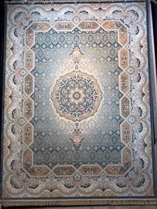 فرش ماشینی 1200 شانه انا طرح آیین آبی