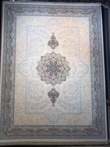 فرش ماشینی 1200 شانه انا طرح زیبا کرم