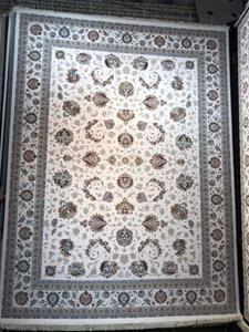 فرش ماشینی 1200 شانه انا طرح پدیده کرم