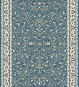 فرش ماشینی 1200 شانه انا طرح تینا فیروزه ای
