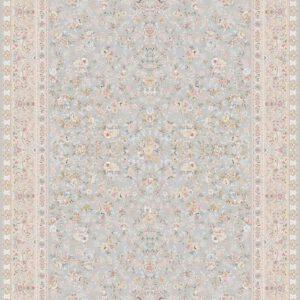فرش ماشینی 1200 شانه طرح رامونا رنگ الماسی