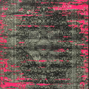 فرش وینتیج رنگ رز2