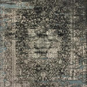 فرش وینتیج رنگ سیلور3
